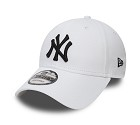 CAPPELLO NEW ERA 9FORTY MLB LEAGUE  BIANCO