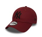 CAPPELLO NEW ERA 9FORTY MLB LEAGUE  ROSSO1