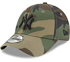 CAPPELLO NEW ERA 9FORTY MLB LEAGUE  CAMO BLACK