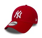 CAPPELLO_NEW_ERA_9FORTY_KIDS_LEAGUE_BASIC_NYY__ROSSO