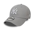 CAPPELLO NEW ERA 9FORTY KIDS LEAGUE BASIC NYY  GRIGIO