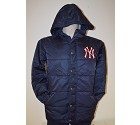 GIUBBOTTO MAJESTIC PUFFA NEW YORK YANKEES  BLU NAVY