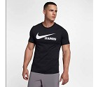 TSHIRT NIKE 777358 TRAINING SWOOSH  NERO