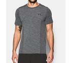 TSHIRT UNDER ARMOUR 1289596 FITTED THREADBORNE  GRIGIO