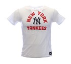 TSHIRT MAJESTIC MNY1915WB NEW YORK YANKEES  BIANCO