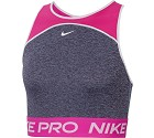 TOP SPORTIVO NIKE PRO CJ3646-424 CROPPED  ROSA