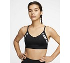 TOP SPORTIVO NIKE INDY LOGO CJ0559 010  NERO