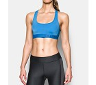 TOP SPORTIVO UNDER ARMOUR 1276503 CROSS-BACK PADDED  AZZURRO