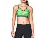 TOP SPORTIVO UNDER ARMOUR W STOCK RUNNING  VERDE FLUO