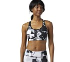 TOP SPORTIVO REEBOK CROSSFIT CF0149 HIGH SUPPORT  BIANCO/NERO