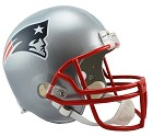 CASCO RIDDELL VSR4 REPLICA  NEW ENGLAND PATRIOTS