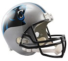 CASCO RIDDELL VSR4 REPLICA  CAROLINA PANTHERS