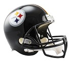CASCO RIDDELL VSR4 REPLICA PITTSBURGH STEELERS