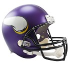 CASCO RIDDELL VSR4 REPLICA  MINNESOTA VIKINGS