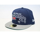 CAPPELLO NEW ERA 59FIFTY WORDMARK   NEW ENGLAND PATRIOTS