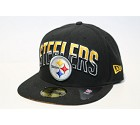 CAPPELLO NEW ERA 59FIFTY NFL DRAFT  PITTSBURGH STEELERS