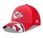 CAPPELLO NEW ERA NFL 39THIRTY DRAFT HAT 17  KANSAS CITY CHIEFS