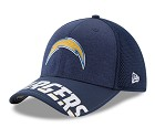 CAPPELLO NEW ERA NFL 39THIRTY DRAFT HAT 17  SAN DIEGO CHARGERS