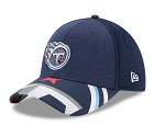 CAPPELLO NEW ERA NFL 39THIRTY DRAFT HAT 17  TENNESSEE TITANS