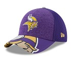 CAPPELLO NEW ERA NFL 39THIRTY DRAFT HAT 17  MINNESOTA VIKINGS