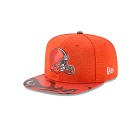 CAPPELLO NEW ERA NFL 9FIFTY ON STAGE DRAFT   CLEVELAND BROWNS
