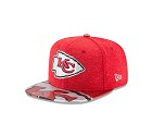 CAPPELLO NEW ERA NFL 9FIFTY ON STAGE DRAFT   KANSAS CITY CHIEFS