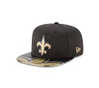 CAPPELLO NEW ERA NFL 9FIFTY ON STAGE DRAFT   NEW ORLEANS SAINTS