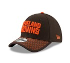 CAPPELLO NEW ERA 39THIRTY SIDELINE 17 ONF  CLEVELAND BROWNS