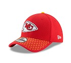 CAPPELLO NEW ERA 39THIRTY SIDELINE 17 ONF  KANSAS CITY CHIEFS