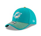 CAPPELLO NEW ERA 39THIRTY SIDELINE 17 ONF  MIAMI DOLPHINS