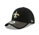 CAPPELLO NEW ERA 39THIRTY SIDELINE 17 ONF  NEW ORLEANS SAINTS