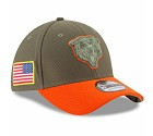 CAPPELLO NEW ERA 39THIRTY SALUTE TO SERVICE  CHICAGO BEARS
