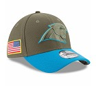 CAPPELLO NEW ERA 39THIRTY SALUTE TO SERVICE  CAROLINA PANTHERS