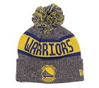 CAPPELLO NEW ERA KNIT NBA MARL GOLDEN STATE WARRIORS