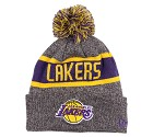 CAPPELLO NEW ERA KNIT NBA MARL  LOS ANGELES LAKERS