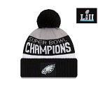 CAPPELLO NEW ERA KNIT SUPER BOWL LII CHAMPIONS PHILADELPHIA EAGLES