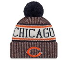 CAPPELLO NEW ERA KNIT SIDELINE 2018 NFL  CHICAGO BEARS