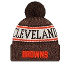 CAPPELLO NEW ERA KNIT SIDELINE 2018 NFL  CLEVELAND BROWNS