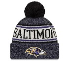 CAPPELLO NEW ERA KNIT SIDELINE 2018 NFL  BALTIMORE RAVENS