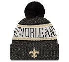 CAPPELLO NEW ERA KNIT SIDELINE 2018 NFL  NEW ORLEANS SAINTS
