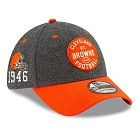 CAPPELLO NEW ERA 39THIRTY 2019 SIDELINE  CLEVELAND BROWNS