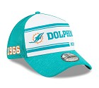 CAPPELLO NEW ERA 39THIRTY 2019 SIDELINE  MIAMI DOLPHINS