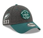 CAPPELLO NEW ERA 39THIRTY 2019 SIDELINE  PHILADELPHIA EAGLES
