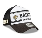 CAPPELLO NEW ERA 39THIRTY 2019 SIDELINE  NEW ORLEANS SAINTS