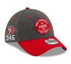 CAPPELLO NEW ERA 39THIRTY 2019 SIDELINE  SAN FRANCISCO 49ERS
