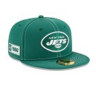 CAPPELLO NEW ERA 9FIFTY 2019 SIDELINE ROAD  NEW YORK JETS
