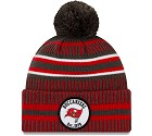 CAPPELLO NEW ERA SIDELINE 2019 HOME KNIT  TAMPA BAY BUCCANEERS