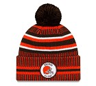 CAPPELLO NEW ERA SIDELINE 2019 HOME KNIT  CLEVELAND BROWNS