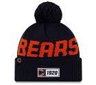CAPPELLO NEW ERA SIDELINE 2019 ROAD KNIT CHICAGO BEARS
