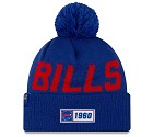 CAPPELLO NEW ERA SIDELINE 2019 ROAD KNIT  BUFFALO BILLS